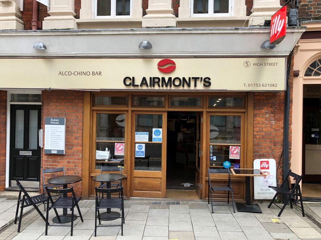 Clairmont's Windsor Coffee Shop
