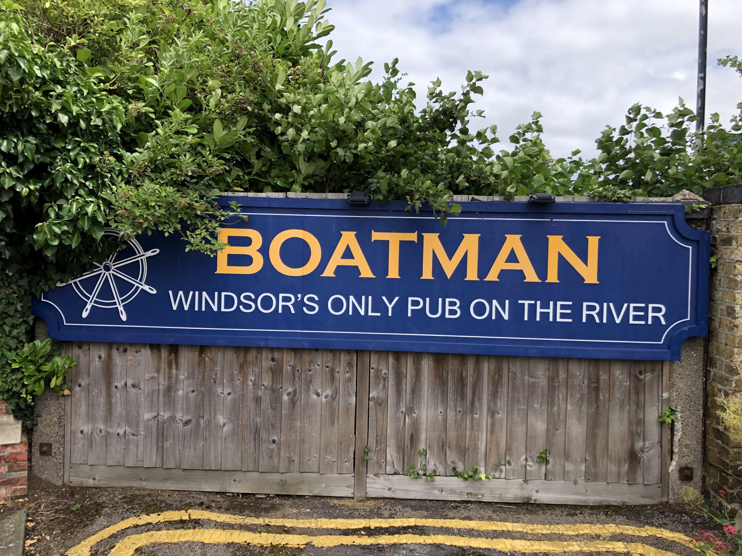 The Boatman pub in Windsor