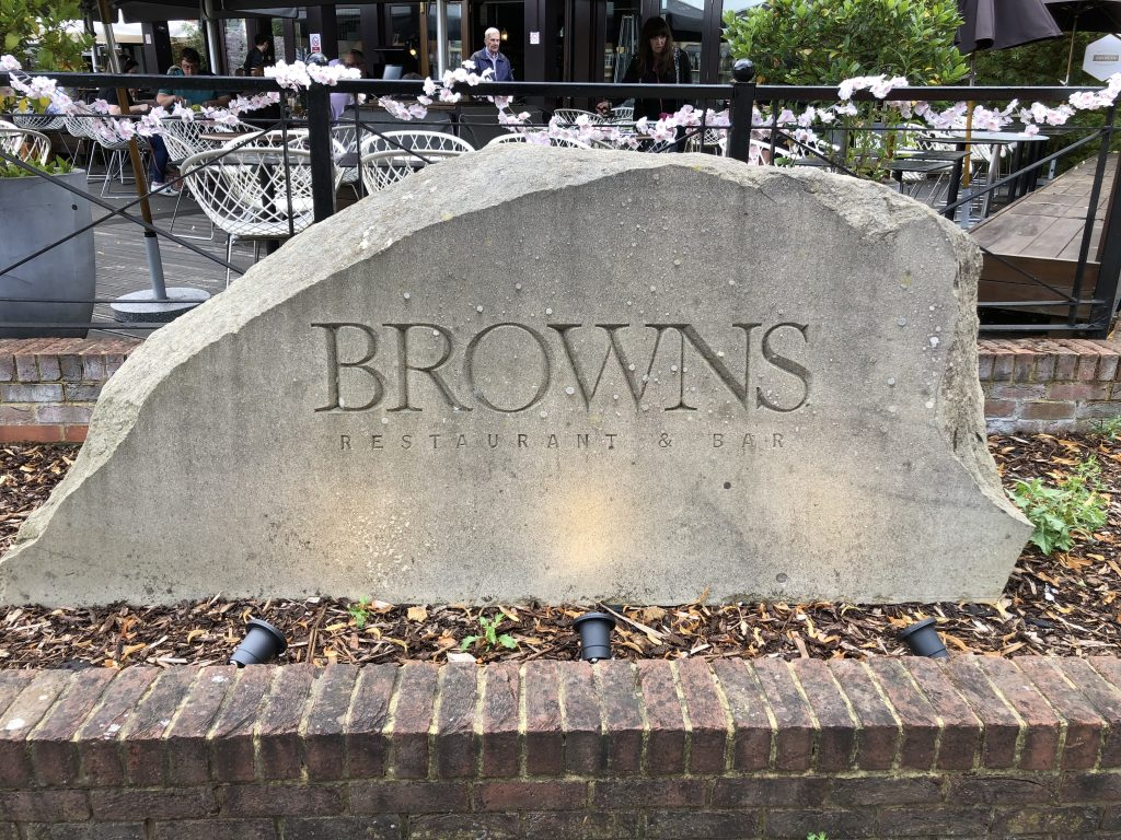 Browns Restaurant in Windsor